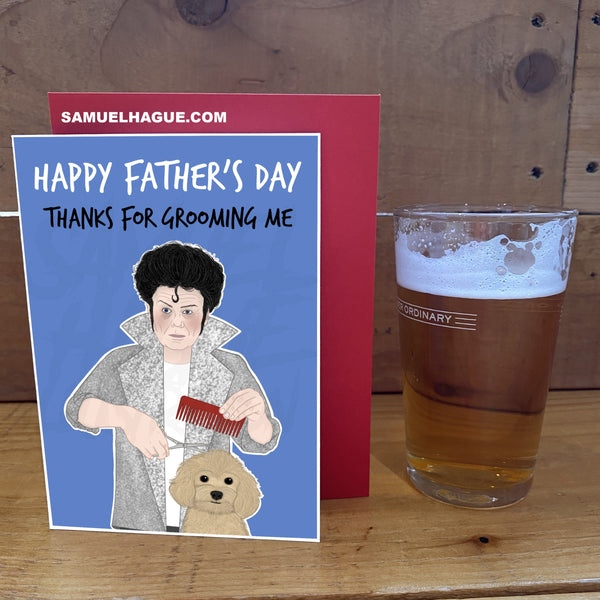 Gary Glitter - Father's Day Card