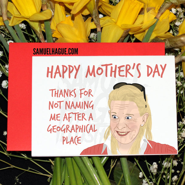 Katie Hopkins - Mother's Day Card