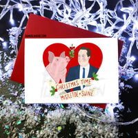 David Cameron / Piggate - Christmas Card