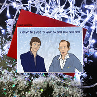Bowie & Bing - Christmas Card