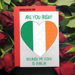Irish - Valentine's Day Card