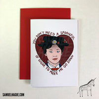Mary Poppins - Valentine's Day Card