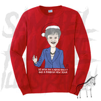 Theresa May / Brexit - Christmas Jumper