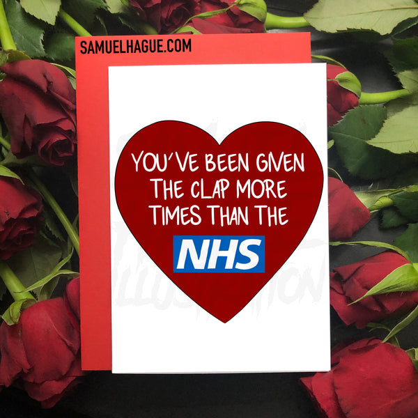 NHS Clap - Valentine's Day Card