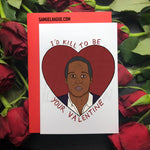 OJ Simpson - Valentine's Day Card