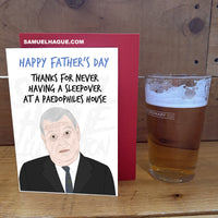 Prince Andrew - Father's Day Card