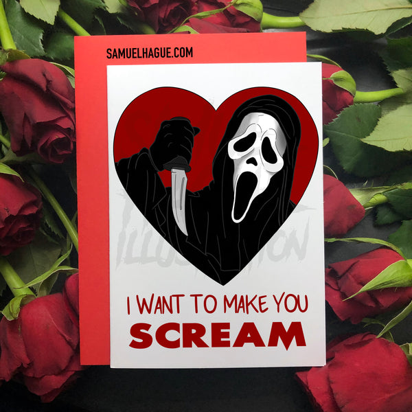 SCREAM - Valentine's Day Card