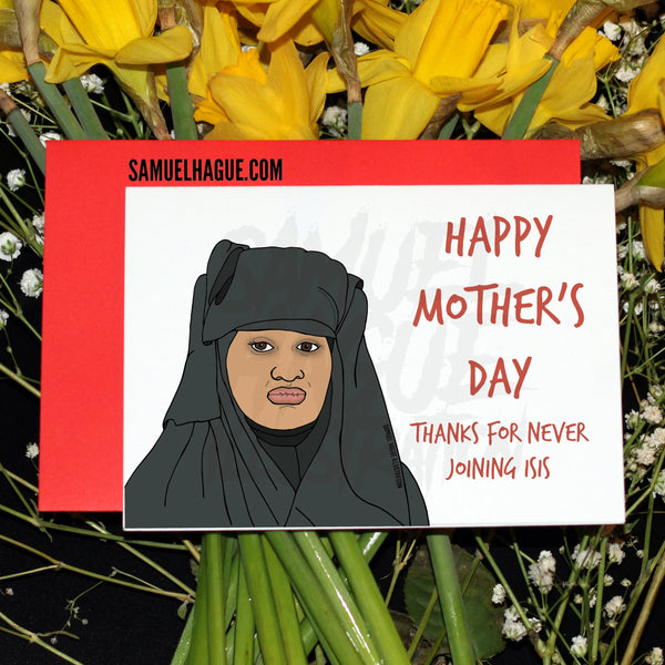 Shamina Begum - Mother's Day Card