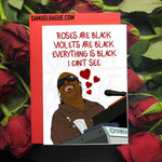 SOLD OUT! Stevie Wonder - Valentine's Day Card