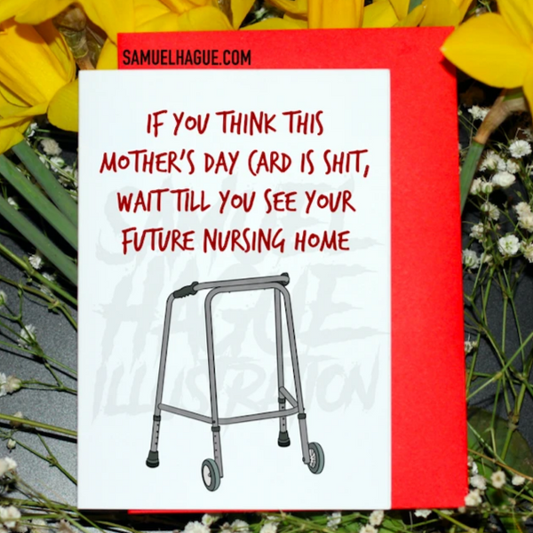 Nursing Home - Mother's Day Card
