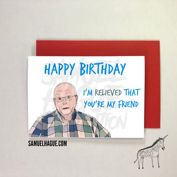 Bob Broberg / Abducted in Plain Sight - Birthday Card