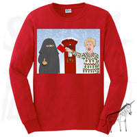 Boris Johnson - Burka - Christmas Jumper