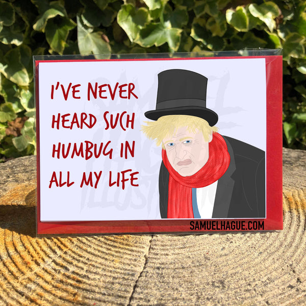Boris Humbug - Christmas Card