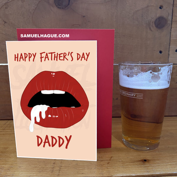 Daddy - Father's Day Card (Pre Order)