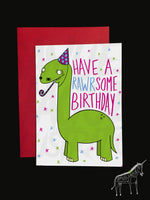 Dinosaur - Birthday Card