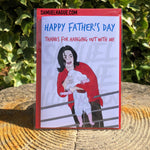 Michael Jackson Balcony - Father's Day Card
