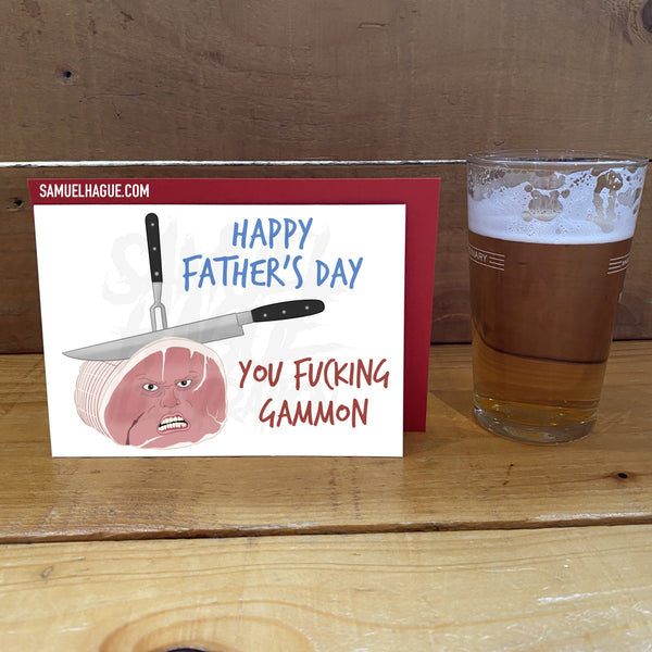 Gammon - Father's Day Card