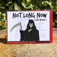 Grim Reaper - Birthday Card