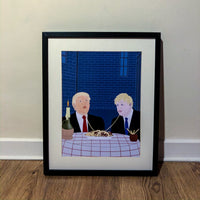 Boris and the Trump - Art Print