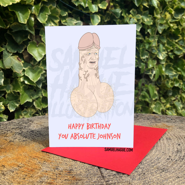 Boris the Johnson - Birthday Card