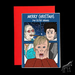 Home Alone / Jimmy Savile / Gary Glitter - Christmas Card