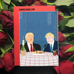 Boris and the Trump - Valentine's Day Card
