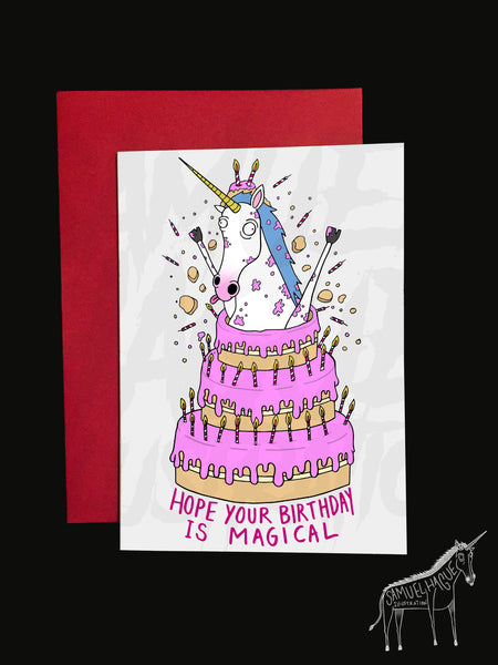 Unicake - Birthday Card