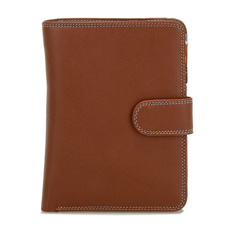 MYWALIT - Grand portefeuille Snap - Marron