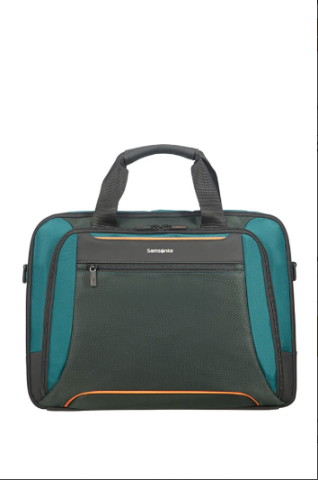 "SAMSONITE - Sacoche ordinateur 15.6"" - Green/Dark Green"