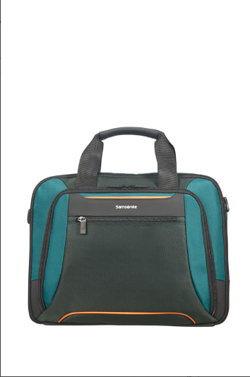 "SAMSONITE - Sacoche ordinateur 14"" - Green/Dark Green"