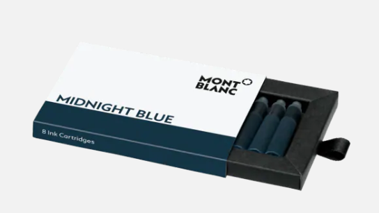 MONTBLANC - Cartouches d'encre - Midnight Blue
