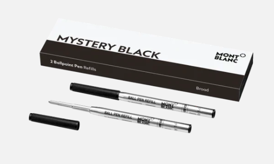MONTBLANC - Recharges pour stylos bille (B) - Mystery Black