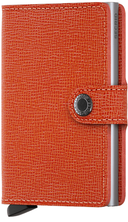 SECRID - Porte-cartes - cuir - orange