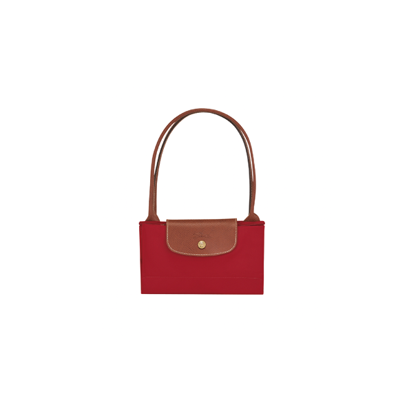 Sac shopping - Longchamp - pliage - Rouge