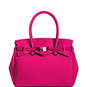 SAVE MY BAG - sac à main en lycra - Petite Miss - Fuschia