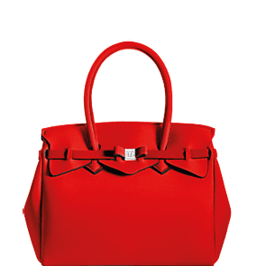 SAVE MY BAG - sac à main en lycra - Petite Miss - Rouge