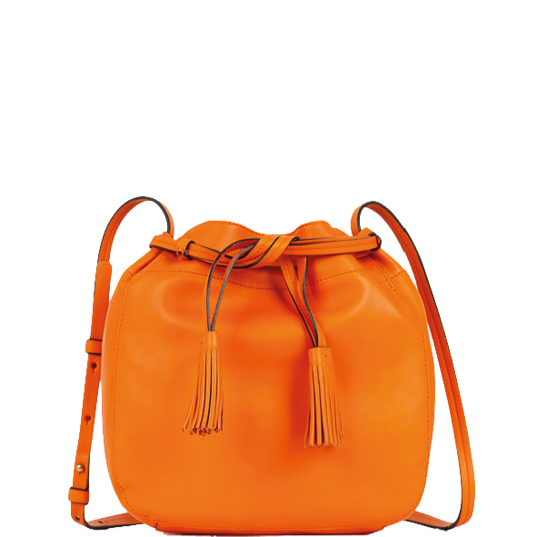 sac bourse Gérard Darel orange