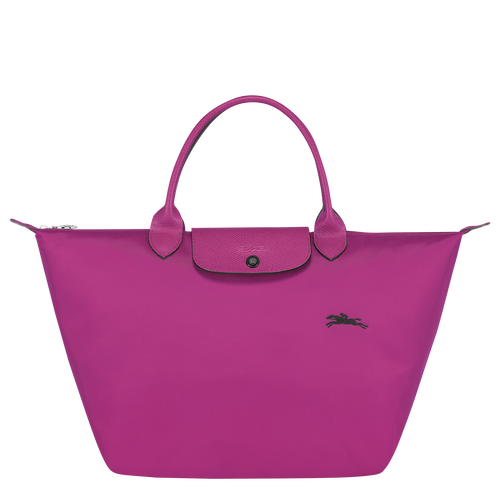 LONGCHAMP - Le Pliage Club - sac porté main M - Fuchsia