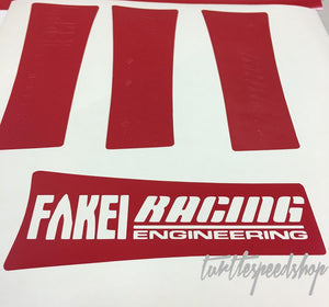 Fakei Racing Wheel Spoke Decals