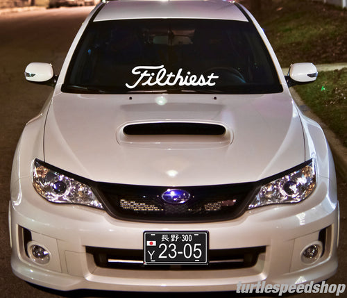 Filthiest Decal 24