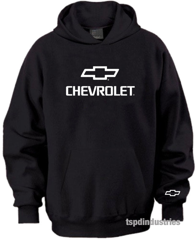 Chevrolet Bowtie Logo Black White Green Hoodie Sweater