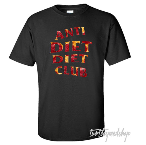 Anti Diet Diet Club Pizza T-Shirt Anti Social Club