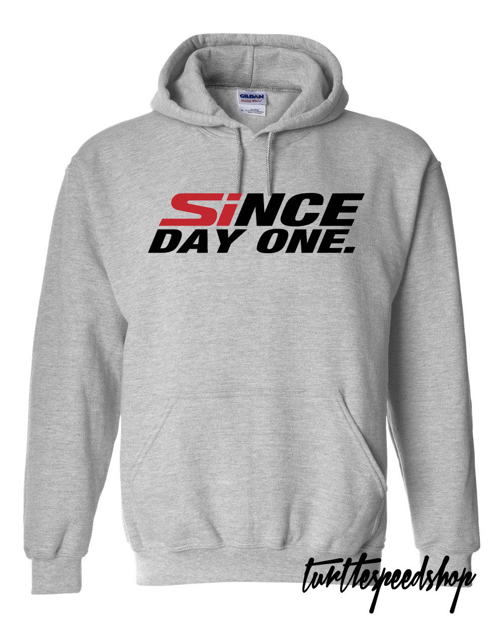 Since Day One Honda Grey Hooded Sweater