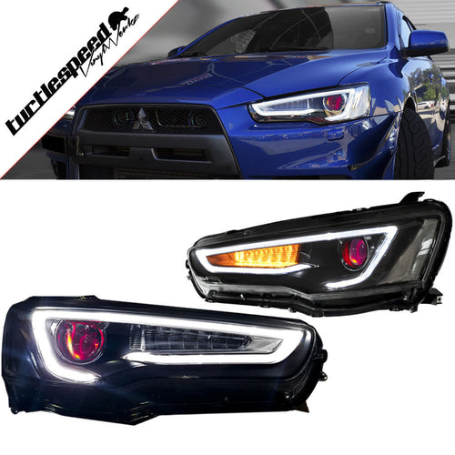 08-17 Mitsubishi Lancer Demon Eye Bi-Projector Xenon Headlights