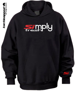SImply Fresh Honda Black Hoodie Sweater