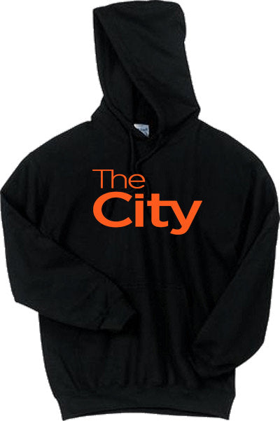 The City 2 San Francisco Hoodie Sweater BLACK Orange SF Giants SFC The Bay