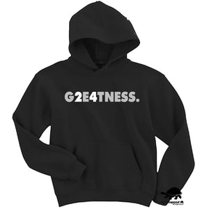 Charles Woodson G2E4TNESS Oakland Raiders Style Logo Hooded Sweatshirt Black Silver