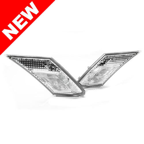 2012+ Subaru Brz ZC6 / Scion FR-S HELIX Front Bumper Side Marker Lights - JDM Crystal Clear