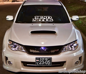 Send NOODS Decal 24""