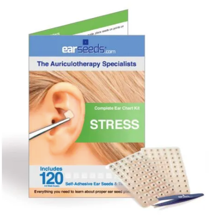 Acupuncture at Home: Stress Ear Seed Kit